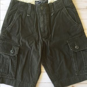 American eagle cargo shorts 5 for $25